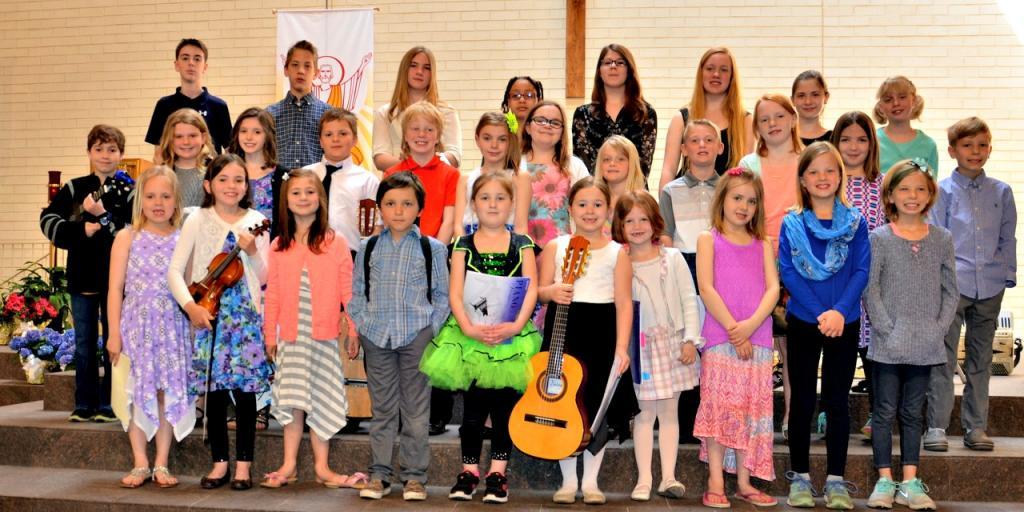 Hamlin Music Academy Students